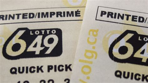 Winning Ticket For -million Lotto 6/49 Jackpot Sold In