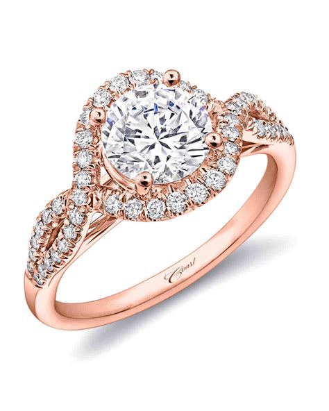 41 Rose Gold Engagement Rings We Love  Martha Stewart