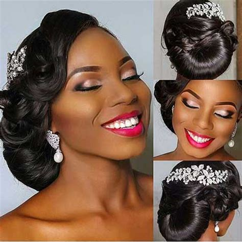 Updo Hairstyles For Black Wedding by 17 Updo Wedding Hairstyles For Black