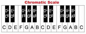 How To Build Piano Scales Major Minor Chromatic