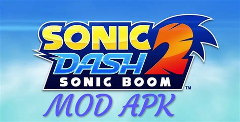 sonic dash  sonic boom mod apk hack unlimited red rings