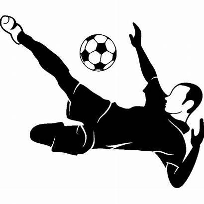 Football Sticker Ambiance Voetbal Stickers Muursticker Stijl