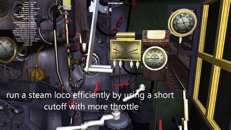 steam locomotive operation  expert controls youtube