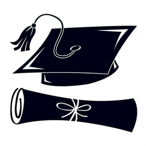 black graduation cap  scroll temporary tattoo goimprints