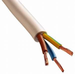Gaine Electrique Brico Depot : c ble souple gris h05vvf 3 fils 3g1mm2 l 10 m brico d p t ~ Dailycaller-alerts.com Idées de Décoration