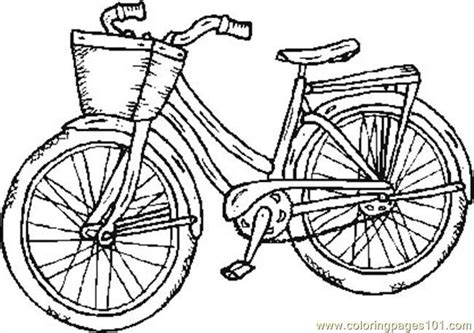 Bicycle Safety Coloring Pages  Free Printable Coloring