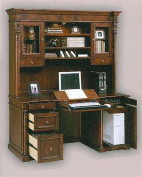 credenza desk and hutch computer credenza desk hutch si 210 41