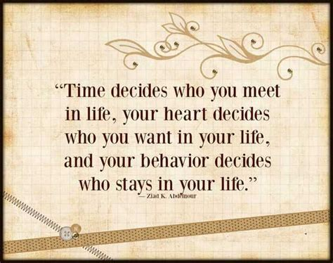 inspirational quotes  life time decides