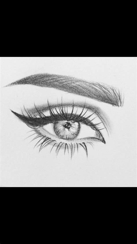 pencildrawingtutorials  images cool eye drawings
