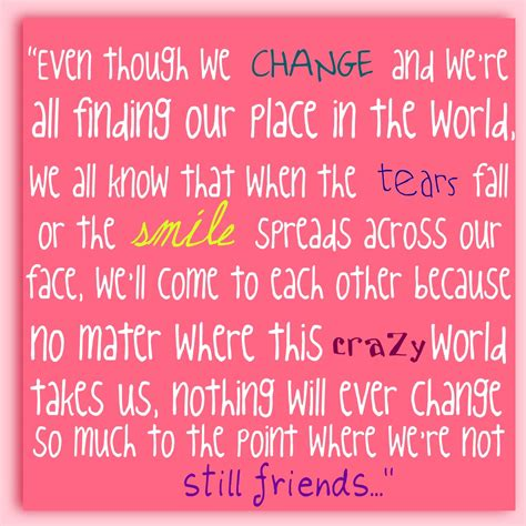 Will Miss Our Friendship Quotes