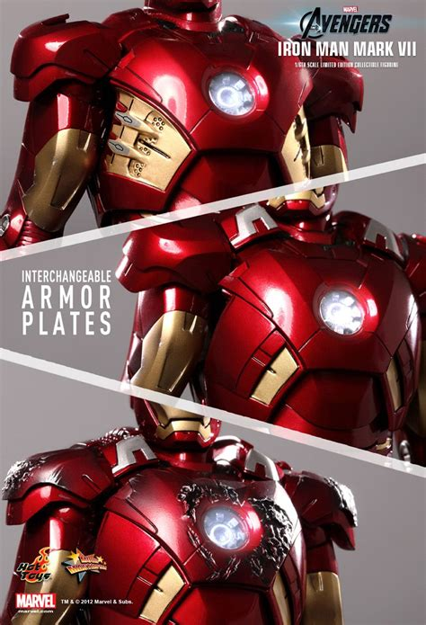 Hot Toys The Avengers Mark Vii 16th Scale Limited