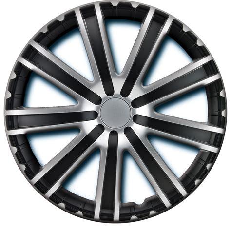 black silver wheel cover kt104mbks alpena 16 inch toro wheel cover kit 4 pack