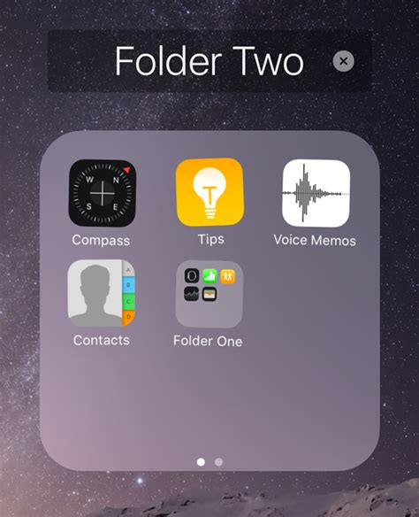 create folder on iphone how to nest folders on the ios home screen the iphone faq