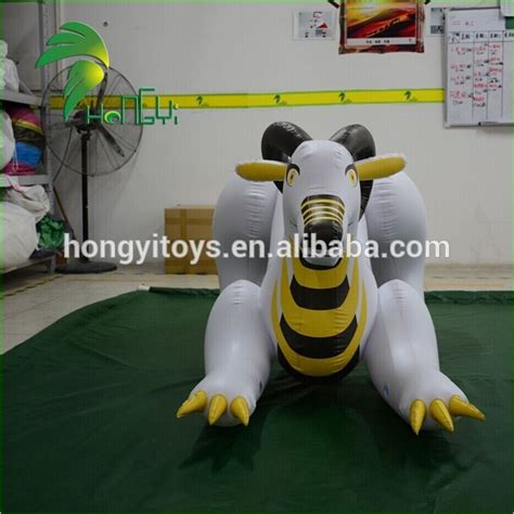 newest design inflatable laying cartoon characters animals