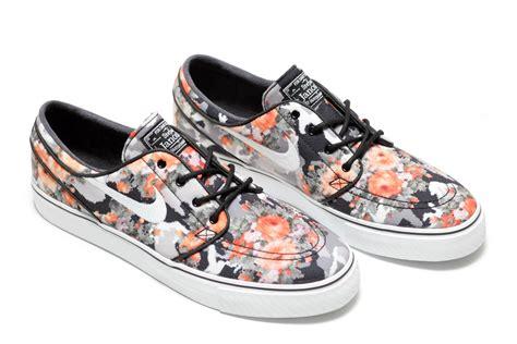 nike sb janoski digi floral qs multi colorblack mandarin release date info sneakerfiles