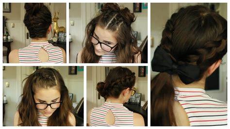 5 Heatless Summer Hairstyles!!!