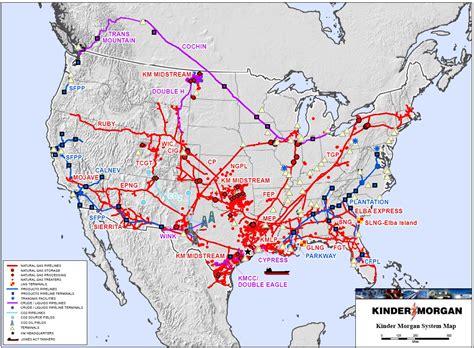 Kinder Morgan - Asset Map