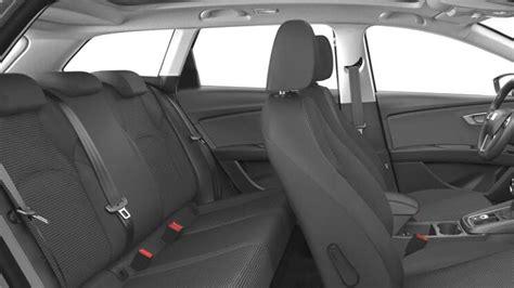 seat leon st  dimensions boot space  interior