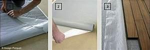une sous couche isolante et fixante pour parquet massif With sous couche parquet massif