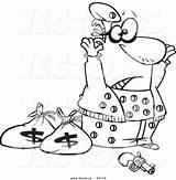 Coloring Pages Robber Bank Robbers Cartoon Cops Surrendering Outline Ziggurat Getcolorings Printable Template Monumental Getdrawings Leishman sketch template