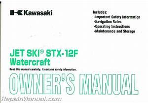 2007 Kawasaki Jt1200d Jet Ski Stx