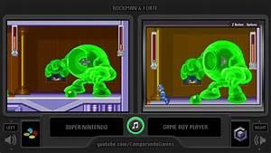 Rockman U0026 Forte Super Famicom Vs Gba Side By Side