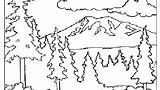 Coloring Pages Mountain Splash Canyon Grand Smoky Landscape Printable Getcolorings Mountains Getdrawings Colorings sketch template