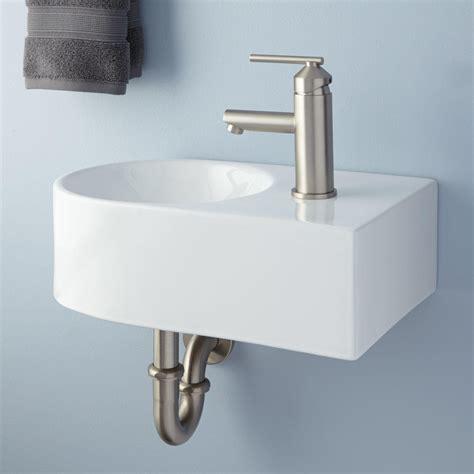 wall mount kitchen sink hynek porcelain wall mount bathroom sink bathroom 6943