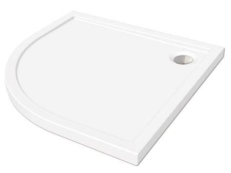 docce semicircolari piatto doccia flat 80x80 semicircolare altezza 5 bianco