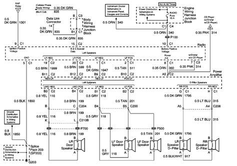 repair guides entertainment systems  radioaudio system schematics uplevel