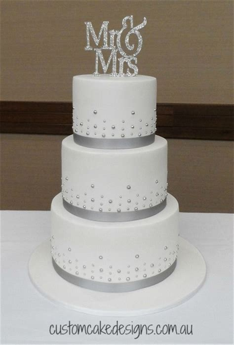 this elegant and simple design was chosen by the bride