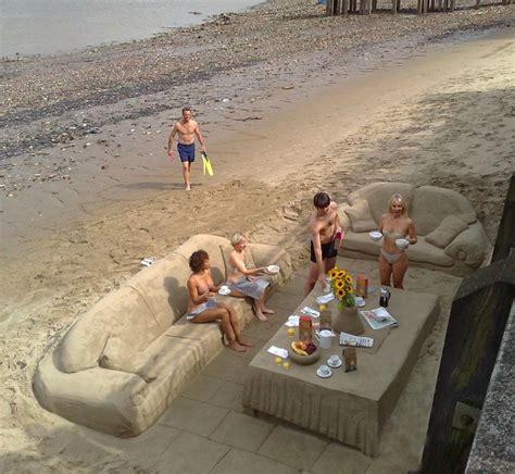 pub canapé apéro sur la plage