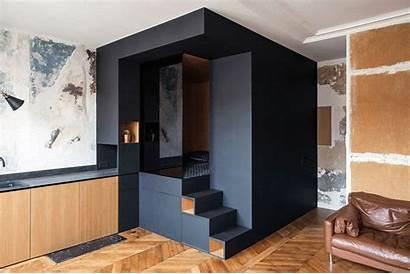 Apartment Bedroom Custom Box Bed Interior Added