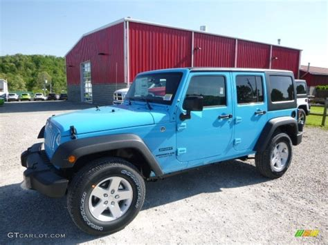 chief blue jeep 2017 chief blue jeep wrangler unlimited sport 4x4