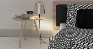 Table De Nuit Metal : projet tudiant alfred la table de chevet lumineuse blog esprit design ~ Carolinahurricanesstore.com Idées de Décoration