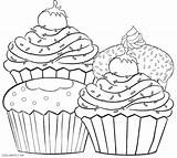 Muffin Coloring Blueberry Pages Drawing Getdrawings Printable Getcolorings sketch template