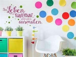 Farben Für Die Wand : kreatives m dchenzimmer farben deko wandgestaltung ~ Michelbontemps.com Haus und Dekorationen