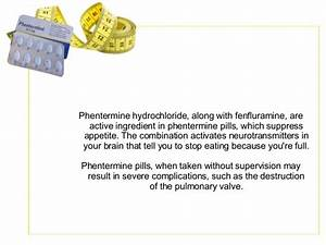 Phentermine Pill Ingredients