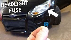 Low Beam Headlight Fuse Location Replacement Ford Focus