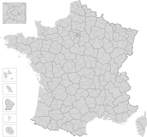 Carte De Département Et Région Vierge by Cartes De Cartes Et Informations Des R 233 Gions