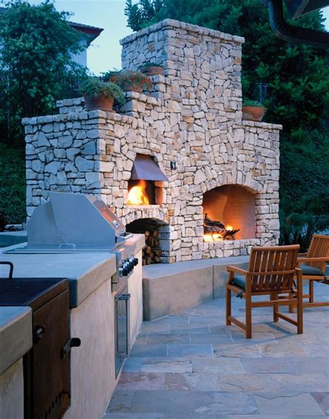 outdoor brick ovens  easy  replicate ideas houz buzz