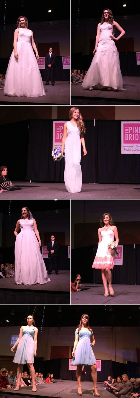 tri cities pink bridal show recap winter   pink