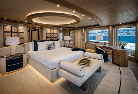 The Interior Design Of The 243-foot-long Superyacht Cloud