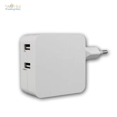 Samsung Lade Led by Usb Lade Adapter 230v Usb 4 2a Reiseladeadapter Weiss