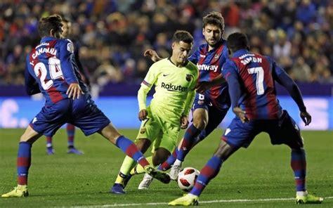 «барселона» на родном «камп ноу» одержала сложную победу над «леванте» — 1:0. Барселона - Леванте. 13 декабря 2020. Прогноз на матч ...