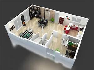 plan maison etage en 3d modele maison modele maison With plan maison gratuit 3d 7 maison americaine