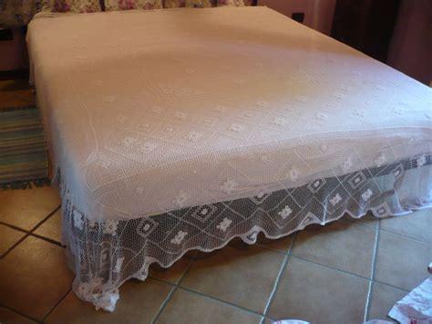 copriletti ad uncinetto antico copriletto in cotone realizzato ad uncinetto a