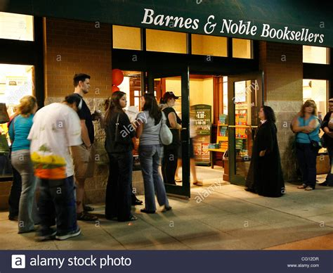 barnes and noble cancel order jul 21 2007 baltimore ma usa line up outside