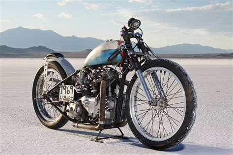 Record Holding Vintage Race Motorcycle And The Struggle To