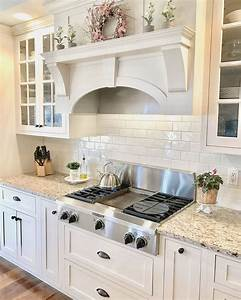 25 best ideas about venetian gold granite on pinterest With kitchen colors with white cabinets with murano glass wall art